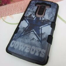 Dallas Cowboys Rugged Impact Hard+Rubber Hybrid Cover Case for LG V10