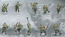 Pegasus 0852 World War II American Infantry 1/144 Scale Model Figures Painted