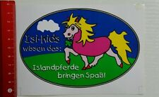 Aufkleber/Sticker: Isi Kids - Island Pferde (08041679)
