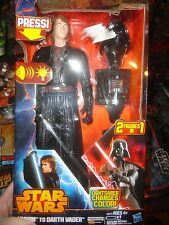 STAR WARS ANAKIN SKYWALKER TO DARTH VADER, CHANGING LIGHTSABER COLOR UNOPENED