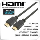 New 2m Gold Plated HDMI Cable v1.4 High Speed Full HD 1080P TV PS3 XBOX BLU RAY