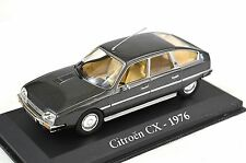 CITROEN CX 2400 PALLAS 1976 METALLIC GREY 1:43 MAGBA06 BLISTER PACK