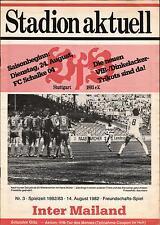 14.08.1982 VfB Stuttgart - Inter Mailand