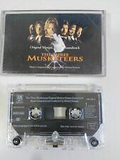 THE THREE MUSKETEERS SOUNDTRACK CASSETTE TAPE CINTA A&M 1993 HOLLAND EDITION