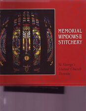 Memorial Windows & Stitchery St. George Church Toronto Canada cushions kneeling