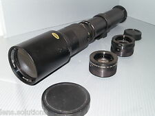 Nikon digital fit 500mm 1000mm 1500mm tele objectif D3100 D3200 D3300 D5100 D5200