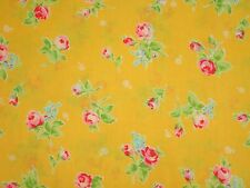 Flower Sugar 2013 Lecien Shabby Retro Rose Floral Cottage Chic 30749 50 Yellow