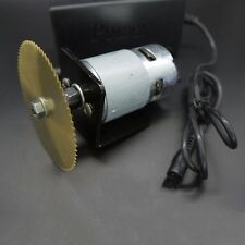 24V DC Motor With 80mm Blade Power Adapter Accessories For Mini Lathe Table Saw