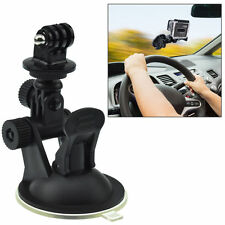 Car Suction Cup Mount Bracket + Tripod Adapter for GoPro Hero 2 3 3+ 4 Camera