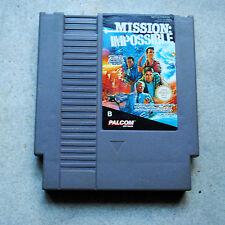 Jeu MISSION IMPOSSIBLE pour Nintendo NES