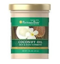 Puritan's Pride Coconut Oil For Skin and Hair (7 fl oz) **NEW IN BOTTLE**