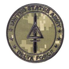 US army operational detachment delta force ACU UCP ECWCS fastener patch