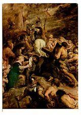 Rijksmuseum Amsterdam Postcard Procession to Calvary Petrus Paulus Rubens Sketch