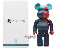 new~ Medicom Andy Warhol SILK SCREEN Ver. 400% Bearbrick Be@rbrick Figure