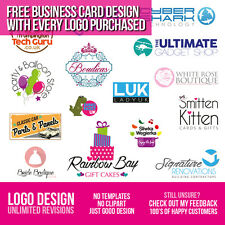 LOGO DESIGN - BESPOKE SERVICE - UNLIMITED REVISIONS - QUICK & CHEAP -