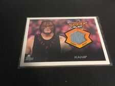 Kane Topps WWE Summer Slam Relic Card