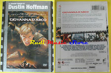 DVD film GIOVANNA D'ARCO Il grande cinema di Dustin Hoffman Jovovich NEW no(D2)