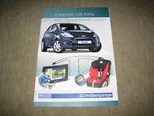 Ford Ka, Fiesta, Focus, Mondeo, C-Max, Kuga Zubehör Prospekt Brochure von 4/2011