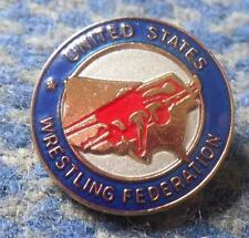 USA WRESTLING FEDERATION UNION ASSOCIATION PIN BADGE