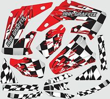 Graphic Kit for 2002-2012 Honda CR125 CR250 CR 125 Shrouds Fender shroud Decal