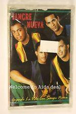 Gozando La Vida Con Sangre Nueva by Sangre Nueva (1994(Audio Cassette Sealed)