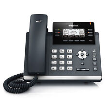 Yealink SIP-T42G: 12 Line HD IP Phone w/ PoE & PS - VoIP - OPEN BOX