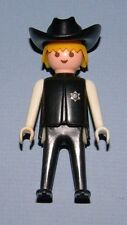 Playmobil Geobra 1974 Blonde Sheriff with Black Hat