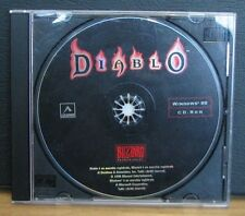 DIABLO - Pc 1996 Blizzard Entertainement - Leader - Windows 95 Cd Rom ORIGINALE