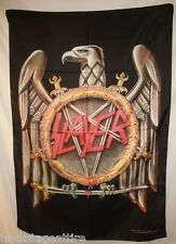 SLAYER Eagle Swords Star King Lombardo Cloth Fabric Poster Flag Tapestry-New!