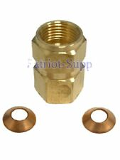 WESTWOOD S220-50 E-Z CONNECT ADAPTER FITTING FOR 3/8 FLARE TO FLEXIBLE OIL LINES