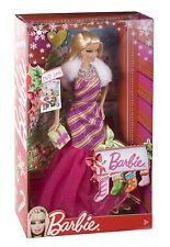 Mattel V6985 - Barbie Zauberhafte Weihnachten, Puppe , NEU,OVP