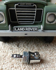Land Rover Chrome/Brass Double Windscreen Washer Jet, Lucas reproduction WSB129