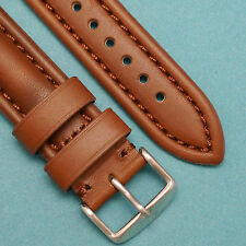22mm Bro-Co Oily Leather Brown Watch Strap fits Any Model