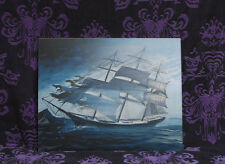 Haunted Mansion lenticular Ghost Ship 6 images Disneyland Disney World LE RARE