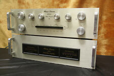 PREAMPLIFIER AND AMPLIFIER PHASE LINEAR 2000/200