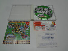 Jojo No Kimyou Na Bouken For Matching Service + Reg w/spine Sega Dreamcast Japan