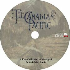 Canadian Pacific Railway CPR {24 Vintage Books} Railroad History on CD