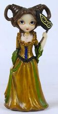 MASQUERADE DRESS UP BALL LADY FAIRY FIGURINE JASMINE BECKET-GRIFFITH ART