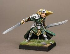 Danithal Elven Warlord Reaper Miniatures Fighter Ranger Elf Melee Dual Swords
