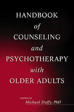 Handbook of Counseling and Psychotherapy with Older Adults-ExLibrary