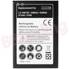 Quality Battery for LG GM750 GW620 GW800 GW88 GT540 Optimus P500 One 1500mAH