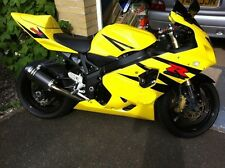 Yellow Black Complete Injection Fairing For 2004-2005 Suzuki GSXR GSX-R 600 750