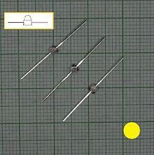 10 Stück gelb Led Leuchtdioden(1,8mm - 2mm)  - E126
