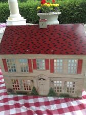Vintage/Antique Tin Litho Doll House