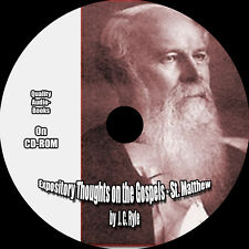 Expository Thoughts on the Gospels - St. Matthew, J. C. Ryle, MP3 Audiobook 1 CD