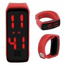 Touch Screen LED Watch Sports Silicone Digital Wristwatch For Adult Child Gift