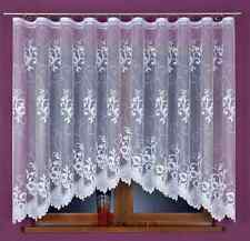 Amazing Delicate White Jacquard Net Curtains READY-MADE Home Window decoration