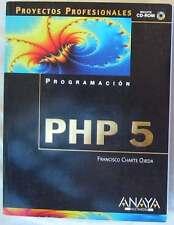PROGRAMACIÓN PHP 5 - PROYECTOS PROFESIONALES - FRANCISCO CHARTE OJEDA
