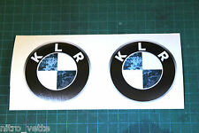 KLR BMW decal Blue Urban Camo stickers Kawasaki KLR 650* TWO