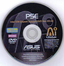 ASUS P5E Motherboard Drivers Installation Disk M1291